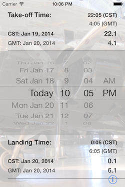 Flight Time Converter iOS Screenshot 4