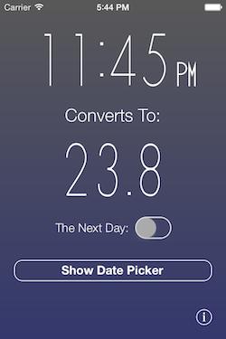 Time Converter 24 free v2.0, 3.5