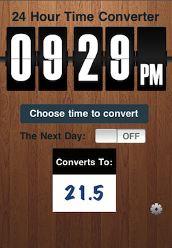 Time Converter 24 Free, 1.0